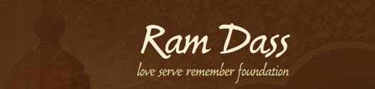 Ram Dass: Love, Serve, Remember logo