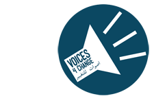Voices 4 Change logo
