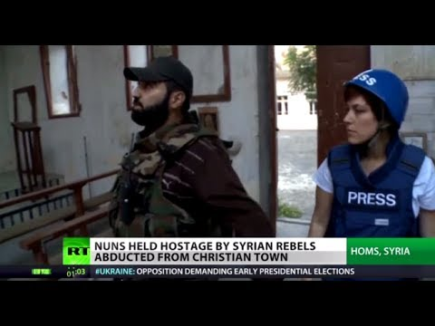 'Monstrous' Terror: Islamist rebels hold nuns hostage in Syria thumbnail