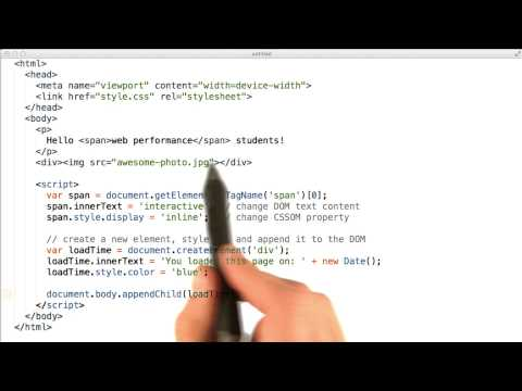 03-07 JavaScript and the CRP thumbnail