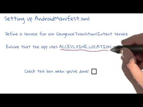Set up AndroidManifestxml thumbnail