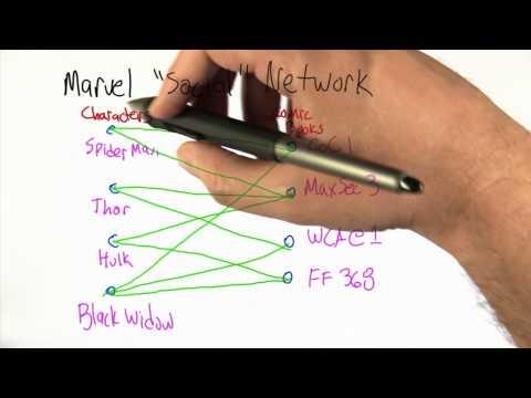 Marvel Social Network - Intro to Algorithms thumbnail