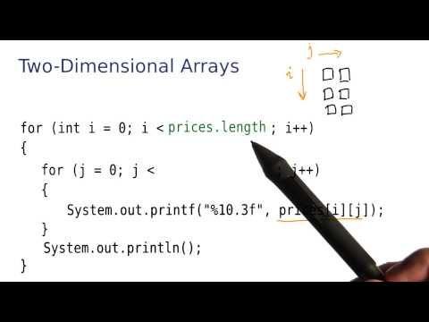 2-D Arrays Part 3 - Intro to Java Programming thumbnail