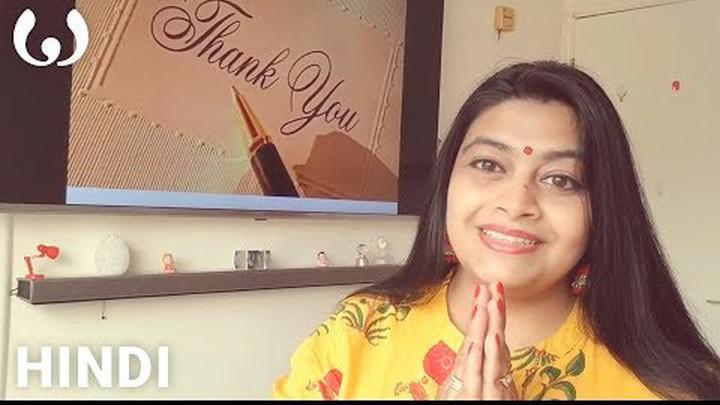 WIKITONGUES: Kavyanjali speaking Hindi