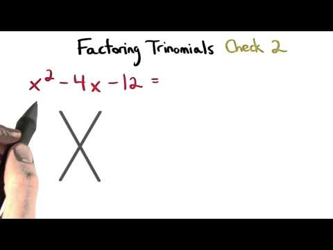 Factoring Check 2 - Visualizing Algebra thumbnail
