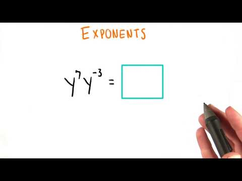 Exponents - College Algebra thumbnail