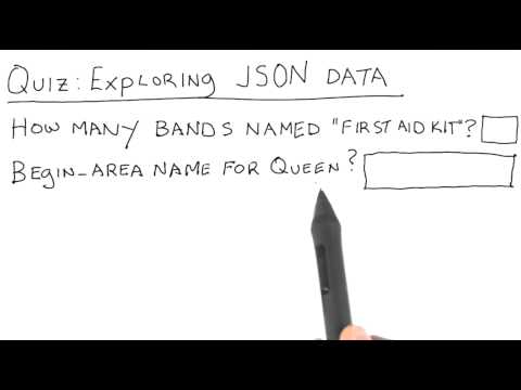 Exploring JSON - Data Wranging with MongoDB thumbnail