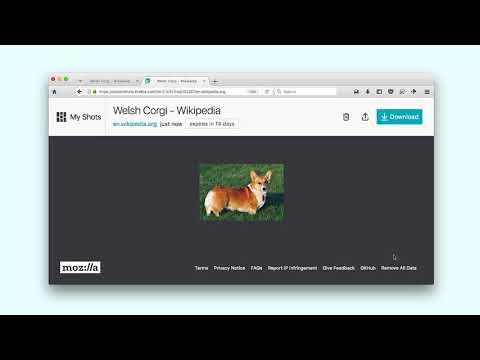 Firefox - Screenshots thumbnail