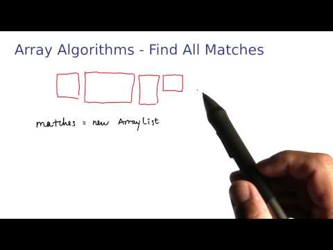 Array Algorithms Find All Matches - Intro to Java Programming thumbnail