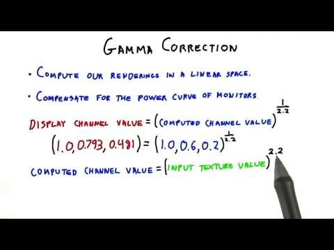 Gamma Correction - Interactive 3D Graphics thumbnail