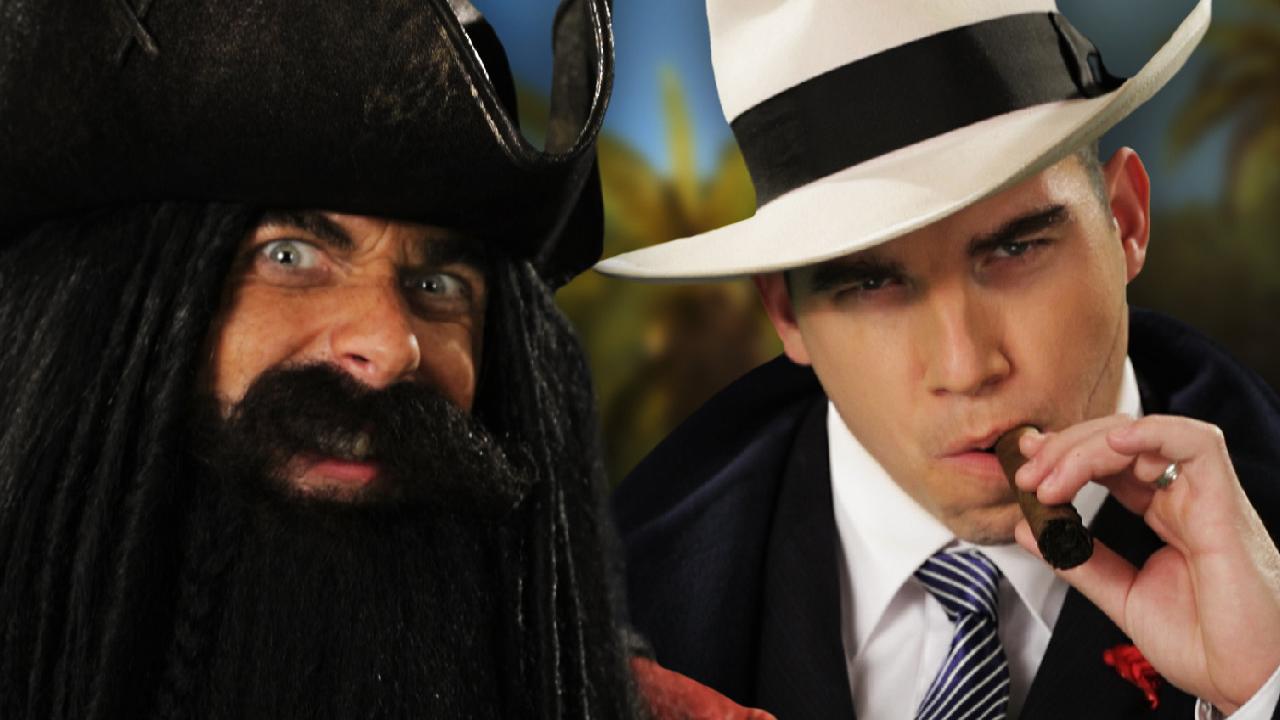 ERB - Blackbeard vs Al Capone thumbnail