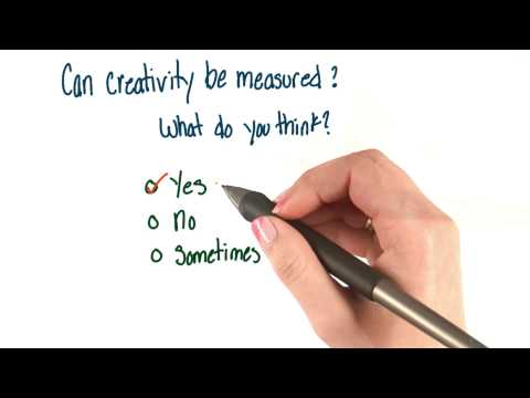 Can creativity be measured - Intro to Psychology thumbnail