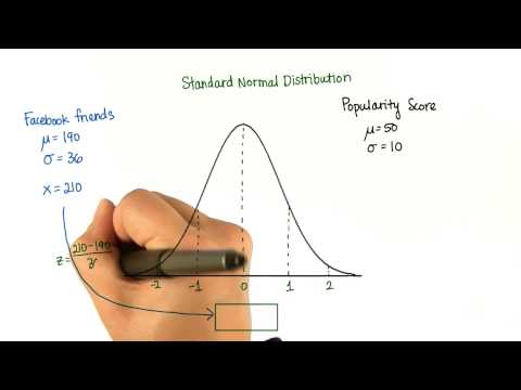 Convert to Z-Score - Intro to Descriptive Statistics thumbnail