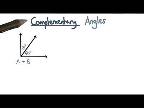 complementary angles thumbnail