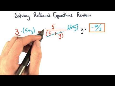 Solving Equations Rationals Review - Visualizing Algebra thumbnail