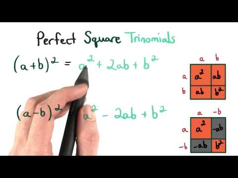 Perfect Square Trinomials thumbnail