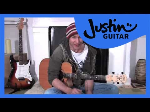 One Minute Changes (Guitar Lesson BC-115) Guitar for beginners Stage 1  thumbnail