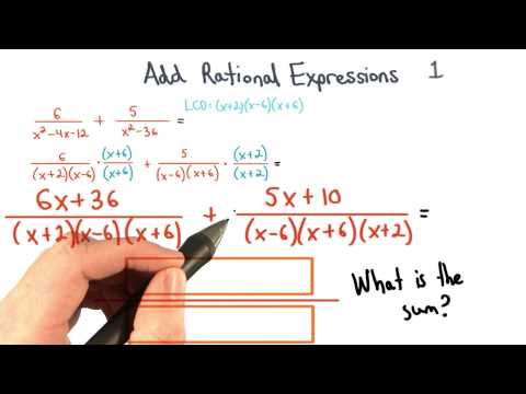 Add Rational Expressions Final Sum 1 - Visualizing Algebra thumbnail