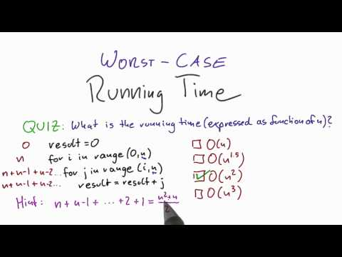 03-13 Running Time Quiz Solution thumbnail