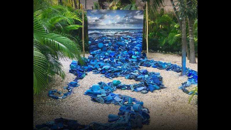How I use art to tackle plastic pollution in our oceans thumbnail