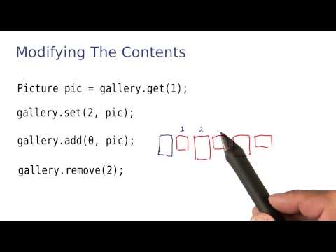 Modifying the Contents - Intro to Java Programming thumbnail