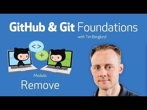 Remove • GitHub & Git Foundations thumbnail