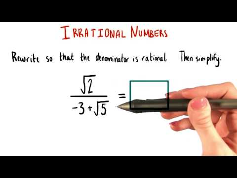 Rationalize and Simplify - College Algebra thumbnail