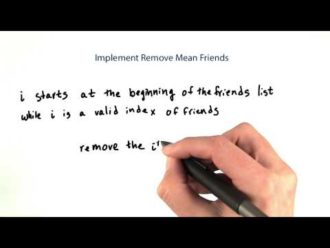 14-47 Implementing Removing Mean Friends thumbnail