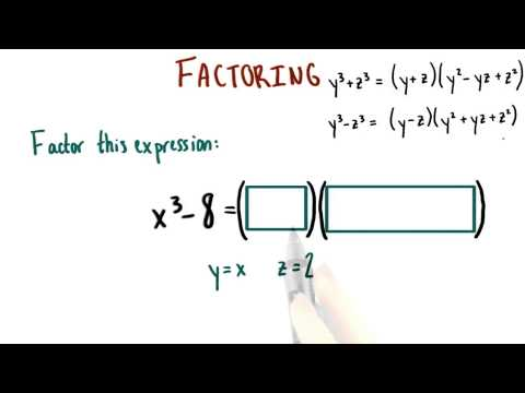 Factor the Cubic - College Algebra thumbnail