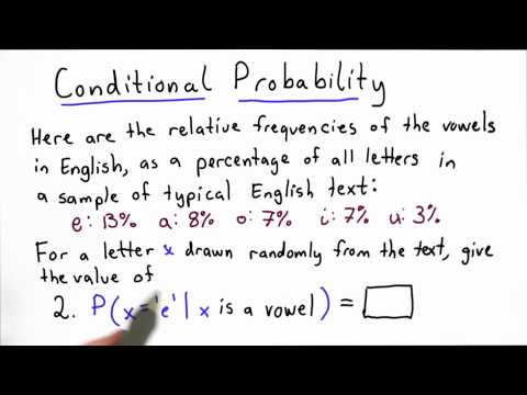Conditional Probability 2 - Applied Cryptography thumbnail