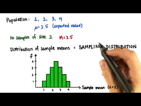Probability Mean - Intro to Descriptive Statistics thumbnail