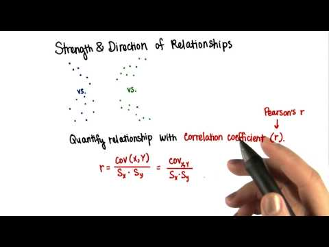 Correlation Coefficient - Intro to Inferential Statistics thumbnail
