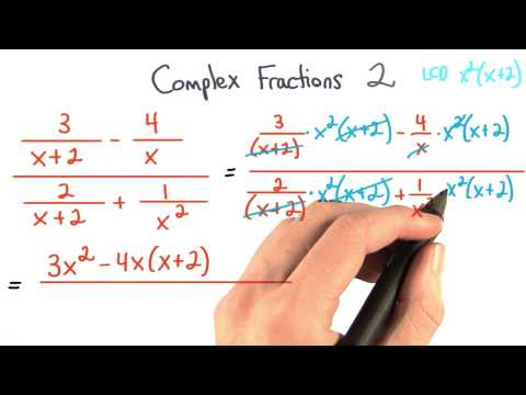 Complex Fractions Simplify 2 - Visualizing Algebra thumbnail