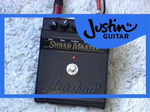 Marshall Shredmaster REVIEW (Guitar Lesson GG-204) How to play thumbnail