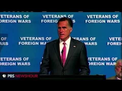 Watch Mitt Romney's Full Speech at Veterans of Foreign Wars Convention thumbnail