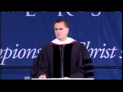 Watch Mitt Romney's Commencement Speech at Liberty University thumbnail