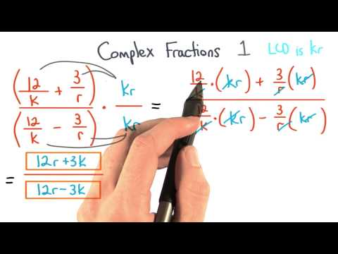 Complex Fractions Simplify 1 thumbnail