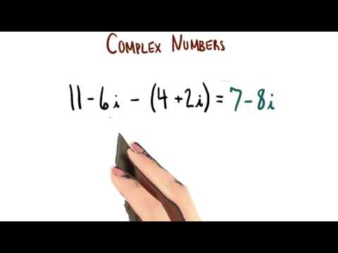 Subtracting Complex Numbers - College Algebra thumbnail