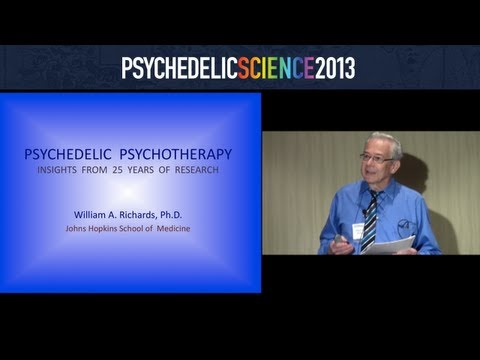 Psychedelic Psychotherapy: Insights from 25 Years of Research - William Richards thumbnail