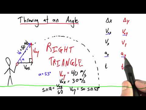 04-26 Initial Velocity at an Angle thumbnail