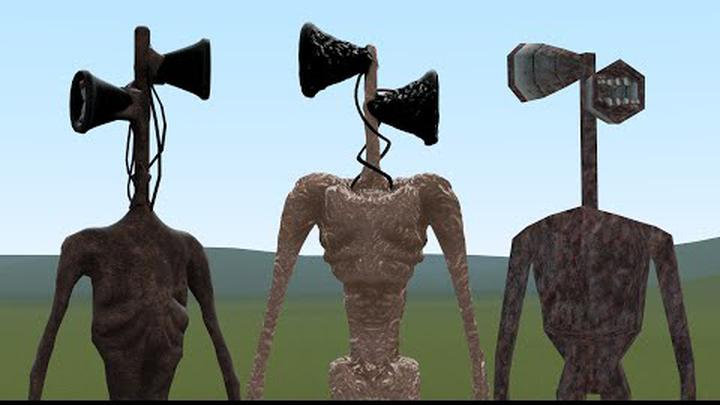 OLD SIREN HEAD VS NEW SIREN HEAD VS SIREN HEAD GAME!! Garry's Mod [Trevor Henderson Creatures]