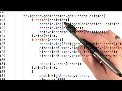 Geolocation API - Mobile Web Development thumbnail