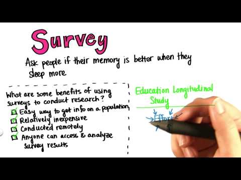 Benefits of Surveys - Intro to Descriptive Statistics thumbnail