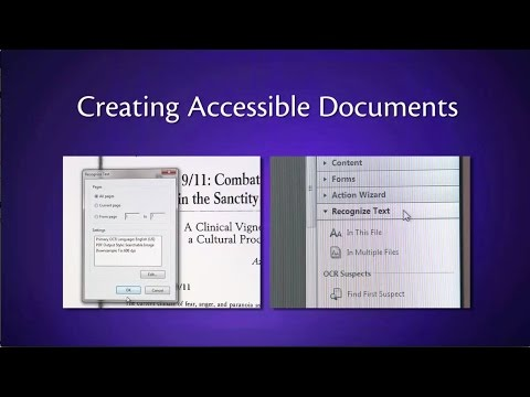 Creating Accessible Documents thumbnail