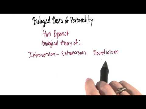 Biological basis of personality - Intro to Psychology thumbnail