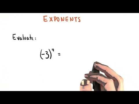 Exponent Practice - College Algebra thumbnail