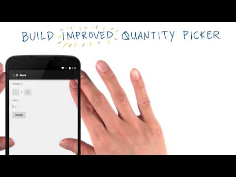 Build the Quantity Picker Layout thumbnail