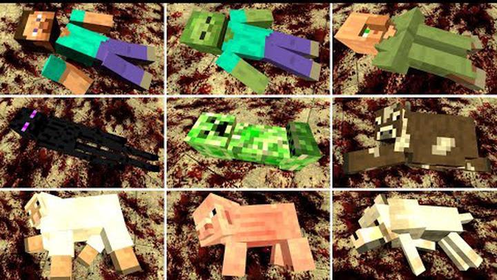 ALL MINECRAFT MOBS TORTURE!! Garry's Mod [Minecraft]
