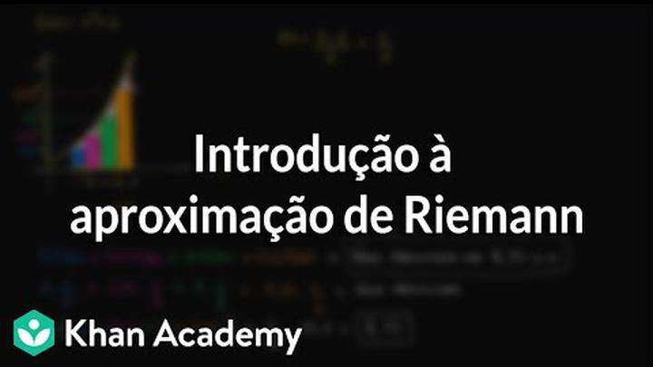 Introdução à aproximação de Riemann