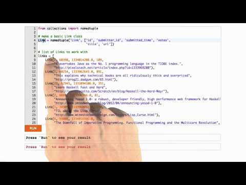 Implementing Tables in Python - Web Development thumbnail
